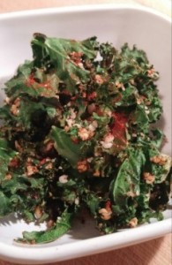 Spicey Kale Chips
